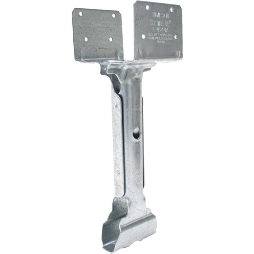 Simpson Strong-Tie 4 In. x 4 In. 14 ga Galvanized Elevated Post Base