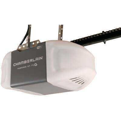 Chamberlain C2405 1/2 HP Smartphone-Controlled Durable Chain Drive Garage Door Opener with WiFi and MED Lifting Power