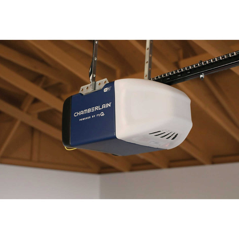 Chamberlain C2202 1/2 HP Smartphone Controlled Chain Drive Garage Door Opener Image 4