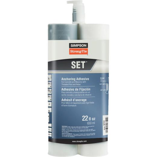 Simpson Strong-Tie High Strength Epoxy Adhesive, 22 Oz.