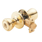 Kwikset Tylo Polished Brass Entry Door Knob  Image 1