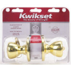 Kwikset Tylo Polished Brass Entry Door Knob  Image 2