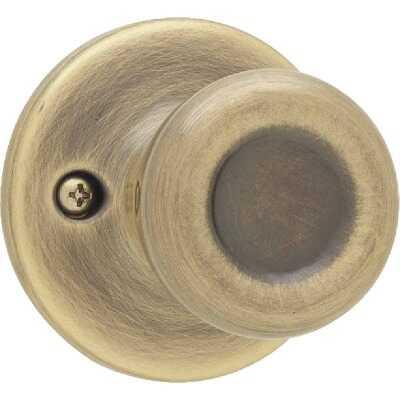 Kwikset Antique Brass Tylo Dummy Door Knob