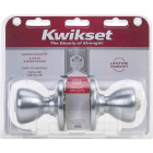 Kwikset Tylo Satin Chrome Entry Door Knob  Image 2