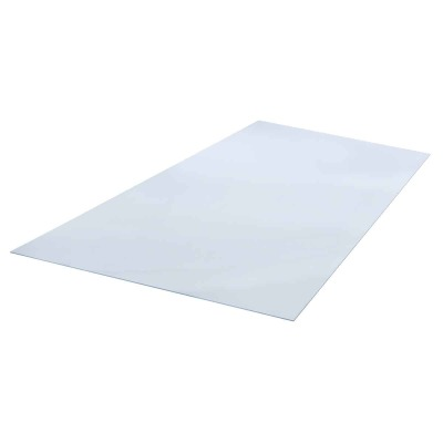 "Plaskolite OPTIX 18"" x 24"" x 0.093 (3/32"") Clear Acrylic Sheet"