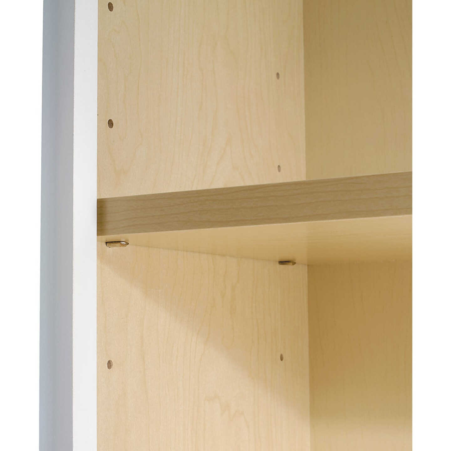 Continental Cabinets Andover Shaker 24 In. W x 30 In. H x 12 In. D White Thermofoil Wall Kitchen Cabinet Image 4