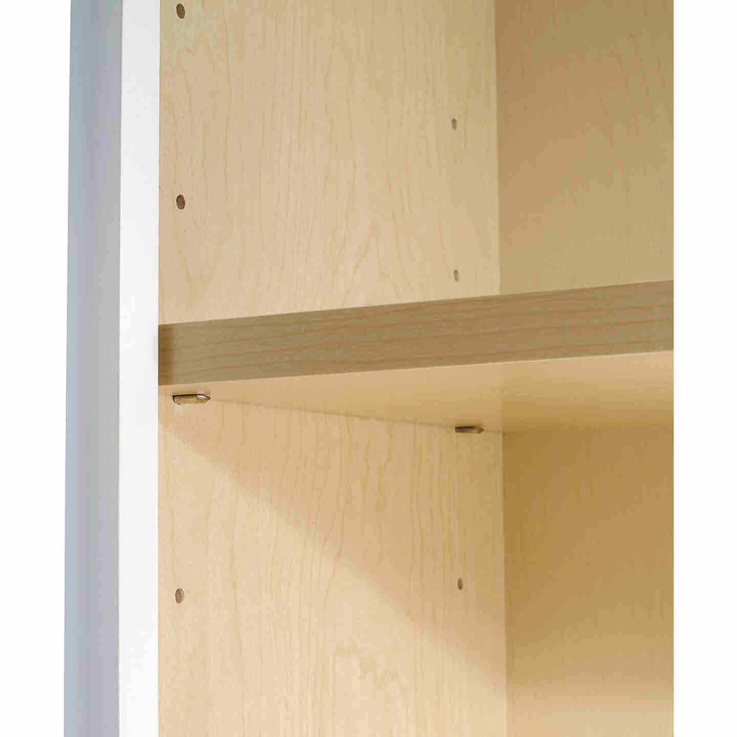 Continental Cabinets Andover Shaker 30 In. W x 30 In. H x 12 In. D White Thermofoil Wall Kitchen Cabinet Image 5