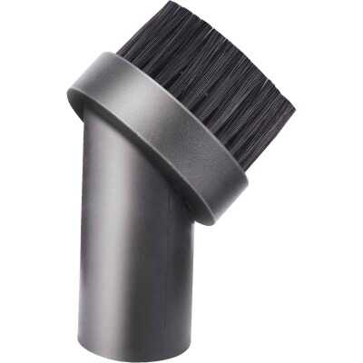 Channellock Round 1-1/4 In. Black Plastic Wet/Dry Vacuum Brush