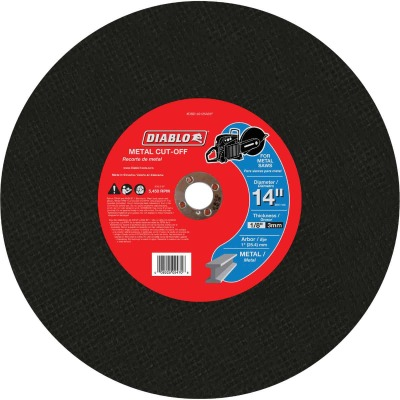 Diablo Type 1 14 In. x 1/8 In. x 1 In. Metal Cut-Off Wheel