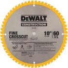 DeWalt Construction 10 In. Assorted Circular Saw Blade Set (2-Pack) Image 3