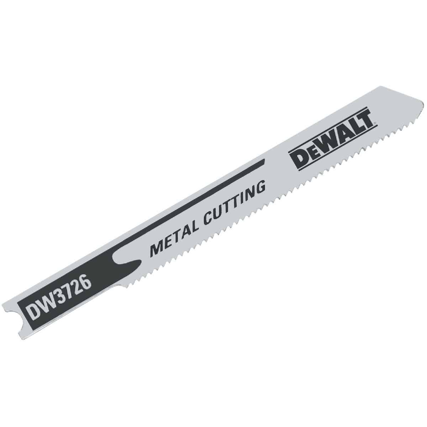 DeWalt U-Shank 3 In. x 24 TPI High Carbon Steel Jig Saw Blade, Metal (5-Pack) Image 1
