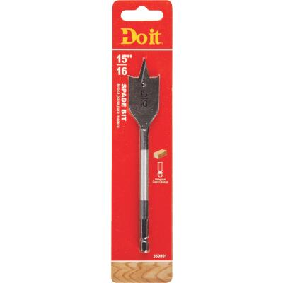 Do it 15/16 In. x 6-1/4 In. Spade Bit