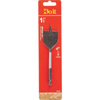 Do it 1-1/2 In. x 6-1/4 In. Spade Bit