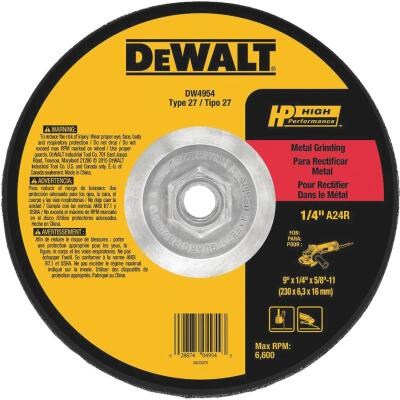 DeWalt HP Type 27, 9 In. Cut-Off Wheel