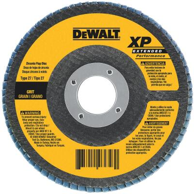 DeWalt 4-1/2 In. 60-Grit Type 29 High Performance Angle Grinder Flap Disc