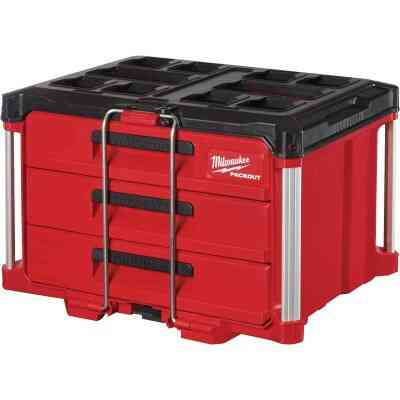 Milwaukee PACKOUT 3-Drawer Toolbox