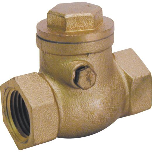 ProLine 2 In. Brass Swing Check Valve