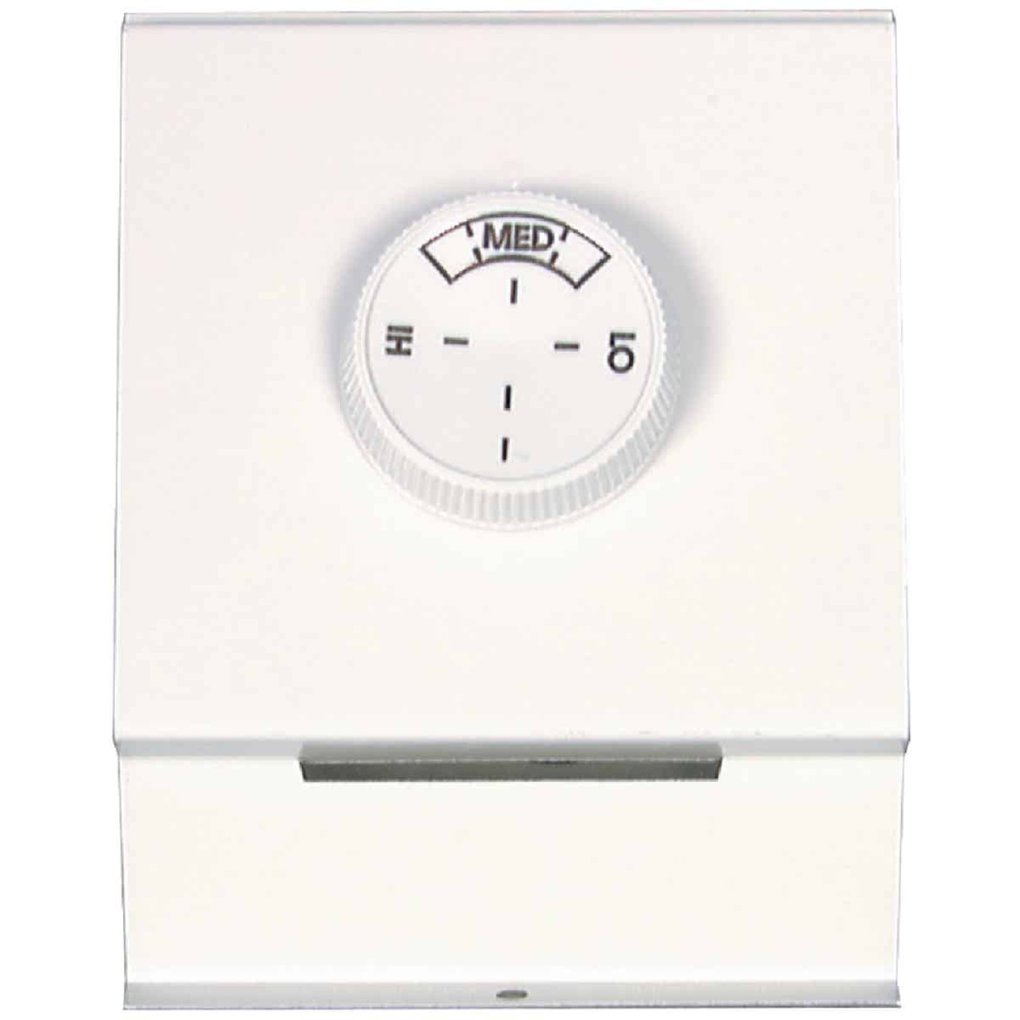 FAHRENHEAT White Single 22A at 120-277V AC Electric Baseboard Heater Thermostat Image 3