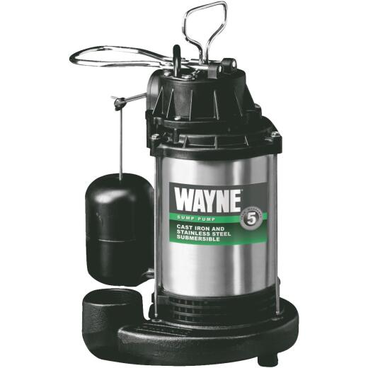 Wayne 3/4 HP 115V Submersible Sump Pump