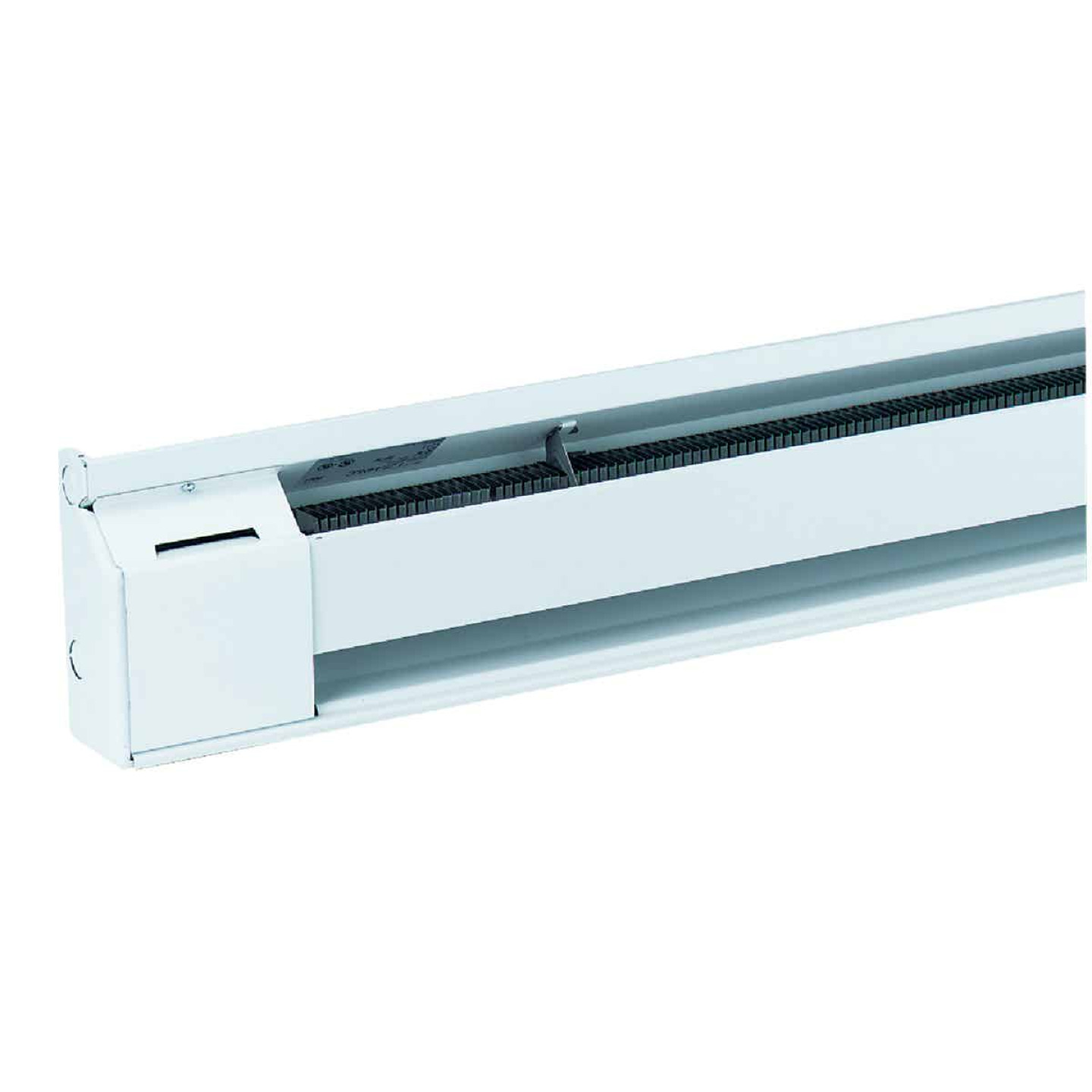 Fahrenheat 48 In. 1000-Watt 240-Volt Electric Baseboard Heater, Northern White Image 1