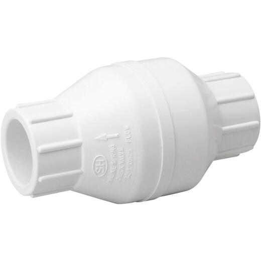 ProLine 3/4 In. PVC Schedule 40 Solvent Check Valve