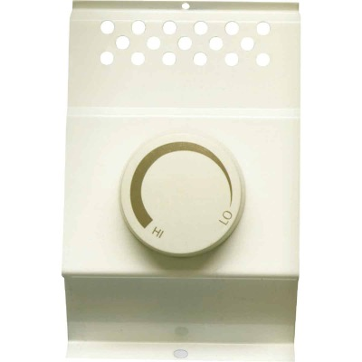 Cadet White Single Cadet BFT1 Electric Baseboard Heater Thermostat