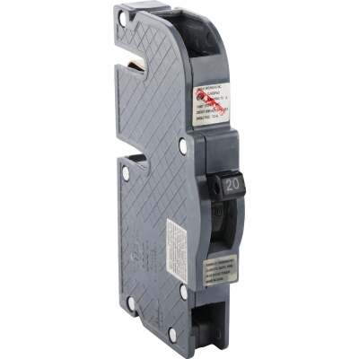 Connecticut Electric 20A Single-Pole Standard Trip Packaged Replacement Circuit Breaker For Zinsco