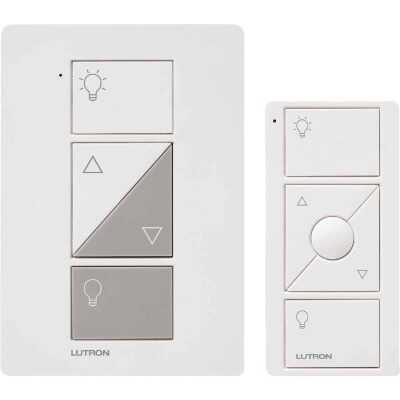 Lutron Caseta White 120V 0.83A Wireless Dimmer