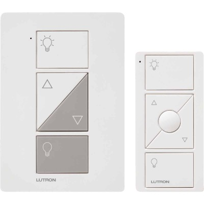 Lutron Caseta White 120V 0.83A Wireless Dimmer