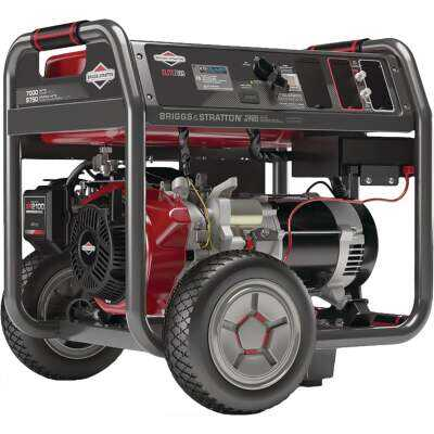 Briggs & Stratton Elite Series 7000W Gasoline Powered Portable Generator