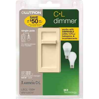Lutron Lumea CL Ivory 120 VAC Wireless Dimmer