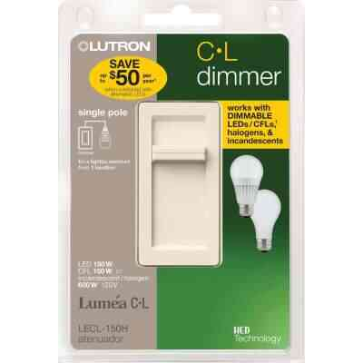 Lutron Lumea CL Light Almond 120 VAC Wireless Dimmer