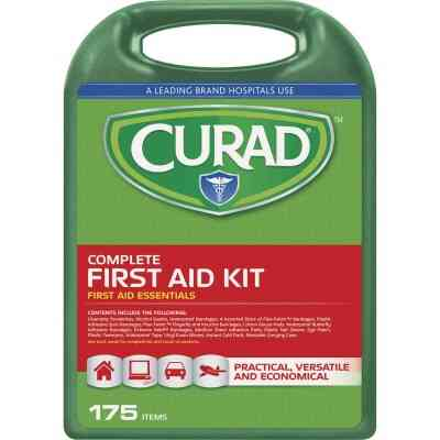 Curad Complete First Aid Kit (175-Piece)