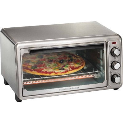 Hamilton Beach 6-Slice 4-Setting Stainless Steel Toaster Oven