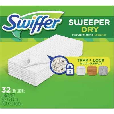 Swiffer Sweeper Dry Cloth Mop Refill (32-Count)