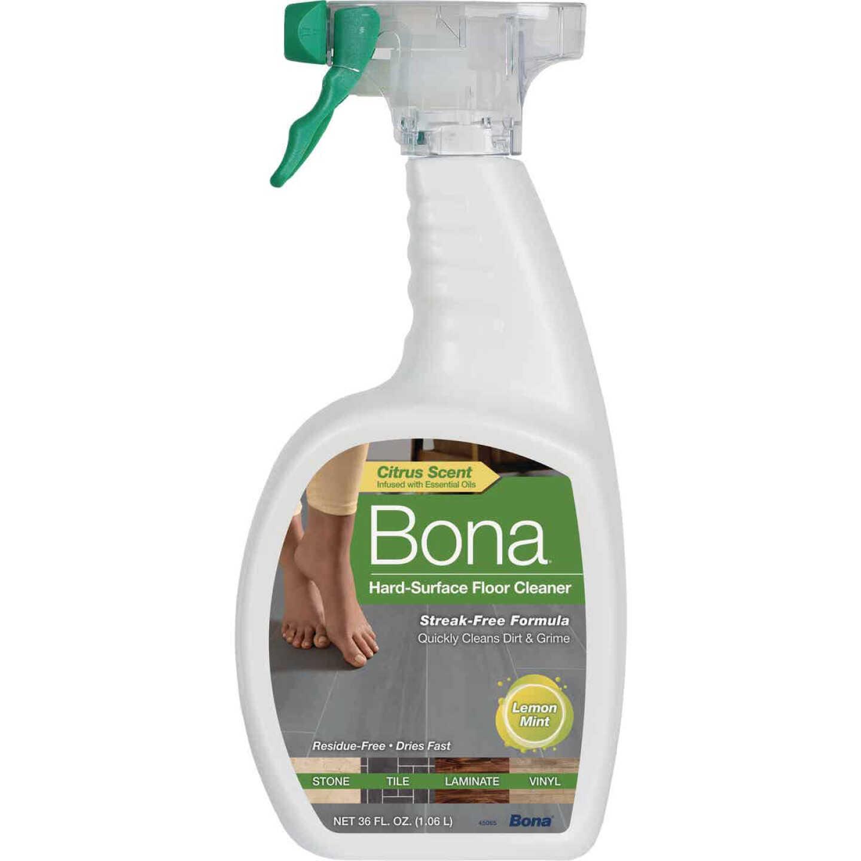 Bona 36 Oz. Lemon Mint Hard Surface Floor Cleaner Image 1
