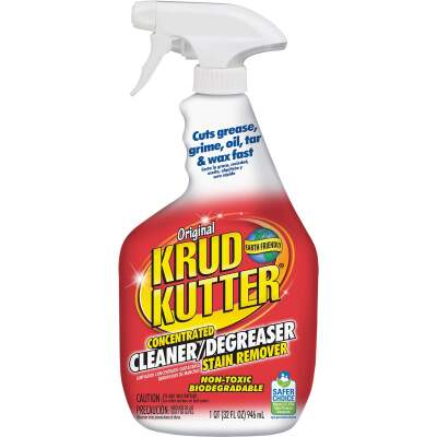 Krud Kutter 32 Oz. Super Concentrated Liquid Cleaner & Degreaser Stain Remover Trigger Spray