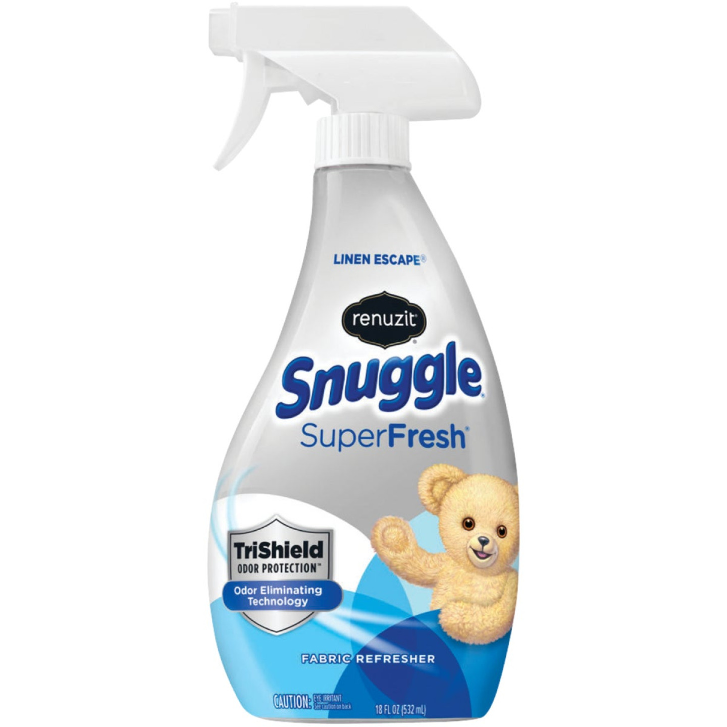 Renuzit Snuggle SuperFresh 18 Oz. Linen Escape Fabric Refresher Spray TriShield Odor Protection Image 1