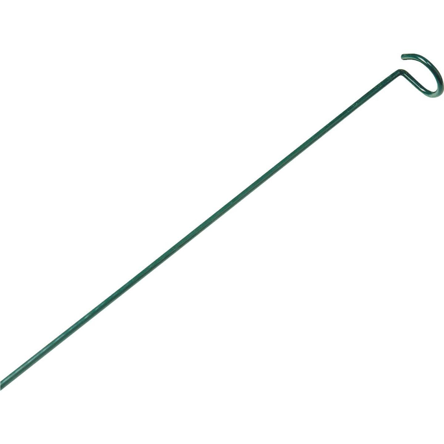 Best Garden 36 In. Green Steel Plant Stake Prop Image 1