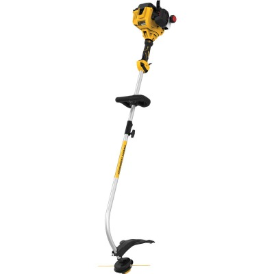 DeWalt Trimmer Plus 27cc 2-Cycle 17 In. Curve Shaft Gas String Trimmer