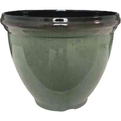 Southern Patio Heritage 15 In. Resin Climbing Ivy Planter