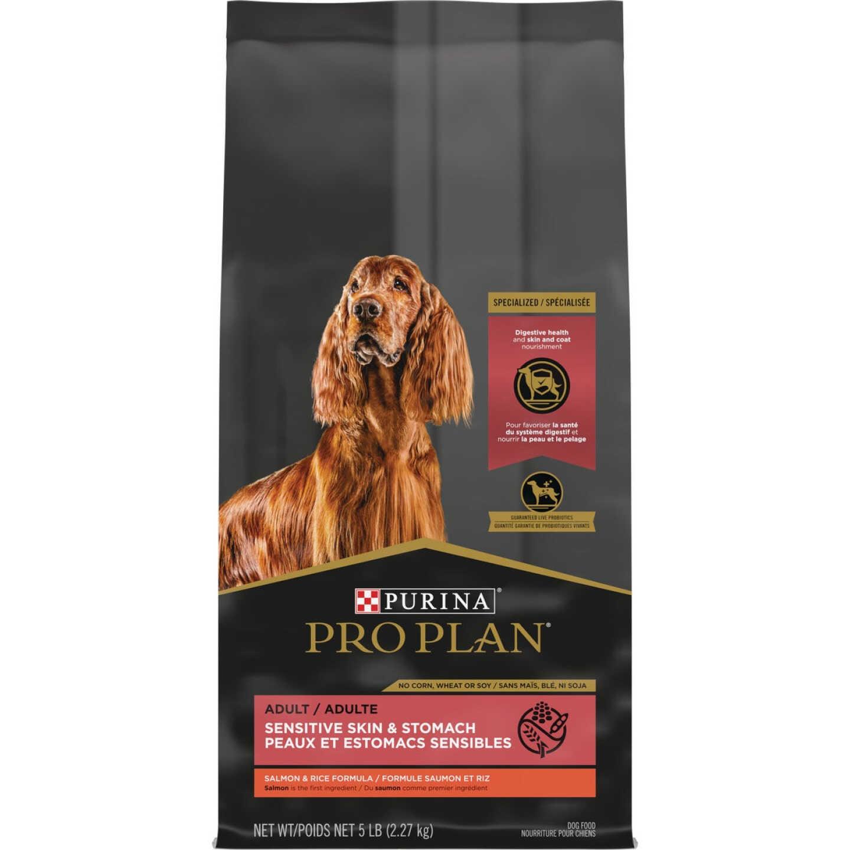 Purina Pro Plan Sensitive Skin & Stomach 6 Lb. Salmon & Rice Flavor Adult Dry Dog Food Image 1