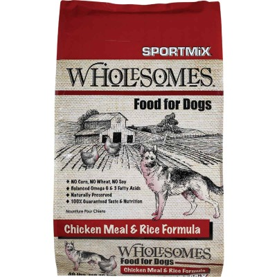 SportMix Wholesomes 40 Lb. Chicken Flavor Adult Dry Dog Food