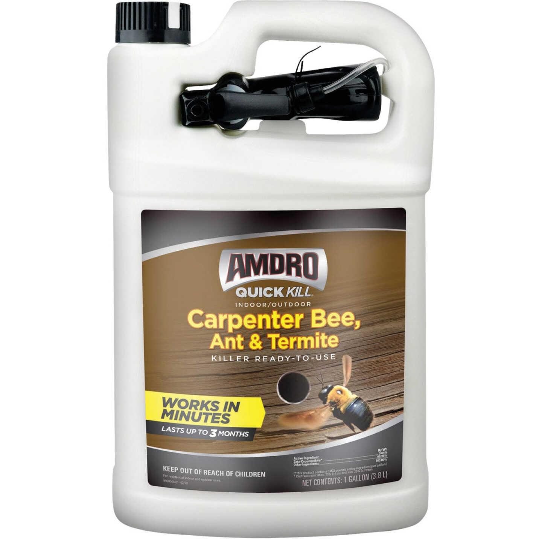 Amdro Quick Kill 1 Gal. Ready To Use Trigger Spray Carpenter Bee, Ant, & Termite Killer Image 1