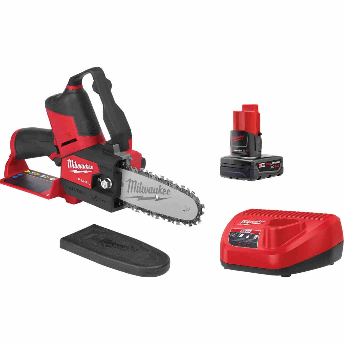 Milwaukee M12 Fuel Hatchet 6 In. 12V Pruning Saw Kit Image 1