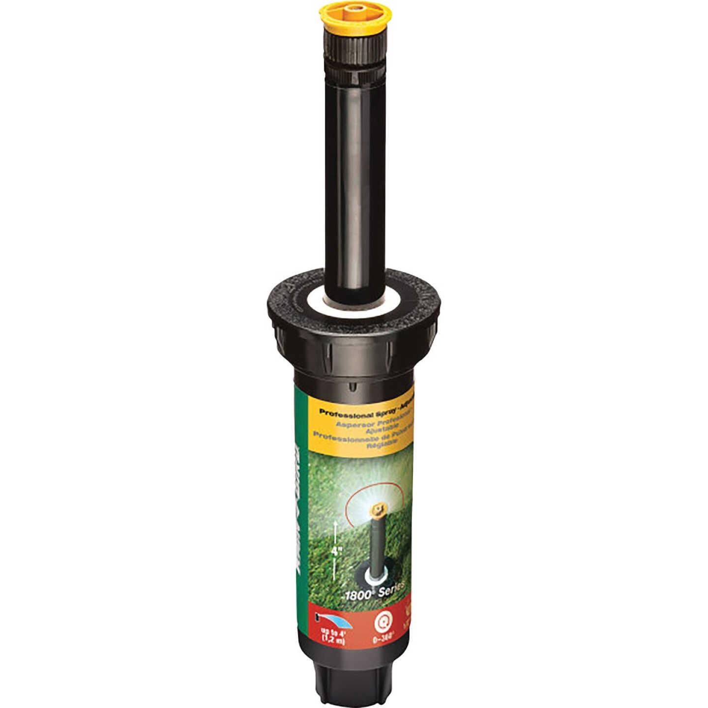 Rain Bird 4 In. Full Circle Adjustable 4 Ft. Rotary Sprinkler with Pressure Regulator Image 1