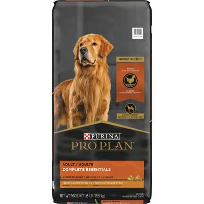 Purina Pro Plan Shredded Blend 35 Lb. Chicken & Rice Flavor Adult Dry Dog Food
