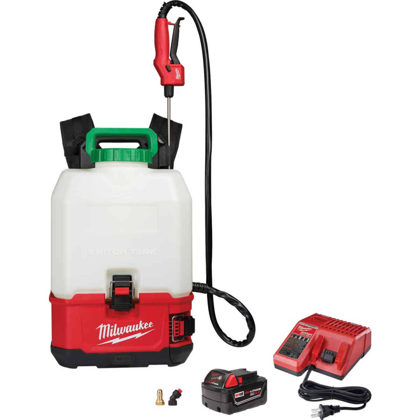 Milwaukee M18 Switch Tank 4 Gal. Backpack Sprayer Kit Image 1