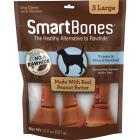 SmartBone Large Peanut Butter Chew Bone (3-Pack) Image 1