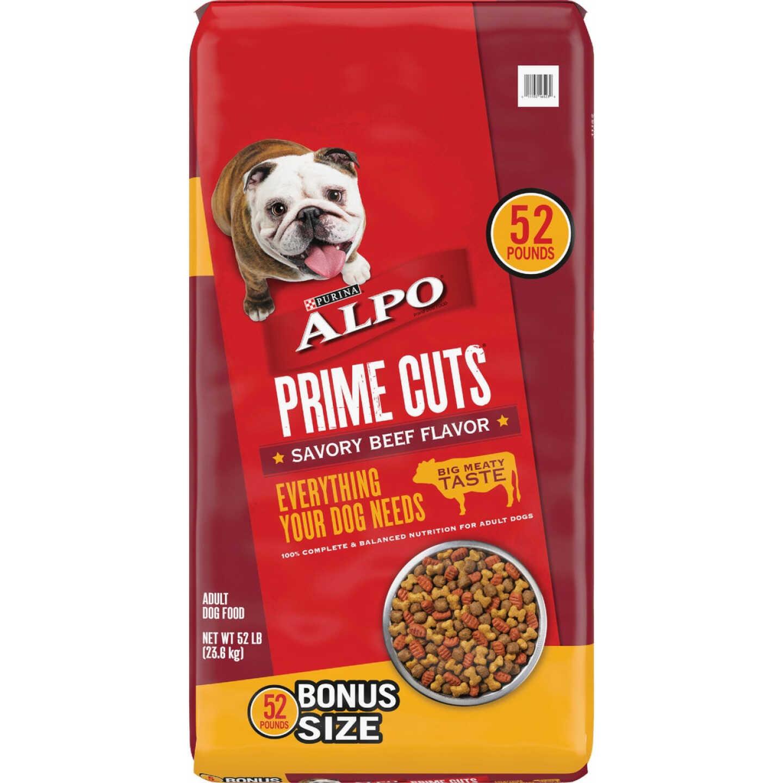 Purina Alpo Prime Cuts 50 Lb. Savory Beef Flavor Adult Dry Dog Food Image 1